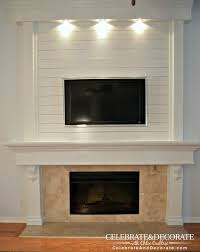 100 Www.home Decorate.com How To Shiplap A Fireplace Or A Wall Shiplap Fireplace