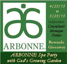 Gods Growing Garden Virtual ARBONNE Spa Party