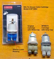 Dripping Bathtub Faucet Delta by How To Replace A Leaky Shower Valve Cartridge