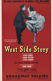 Movie Posters Vintage Print Art Modern Decorative Scenery Film Picture West Side Story Dancing Girls Giant In Painting Calligraphy