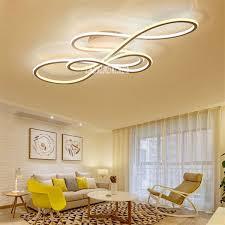 wohnzimmer led deckenleuchte living room lighting modern