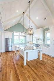 vaulted kitchen ceilings ceiling lighting sloped recessed fixtures