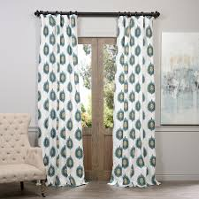 Target Blackout Curtains Smell by Half Price Drapes Mayan Geometric Printed Cotton Single Curtain
