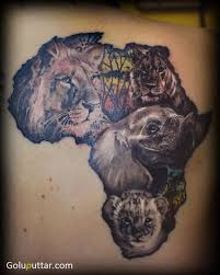Famous African Animal Tattoo