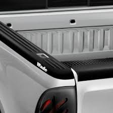 truck bed rail caps polished diamond tread camo paintable