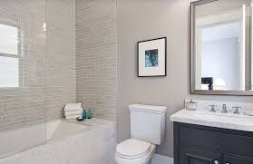 Tile Flooring Ideas For Dining Room by Great Small Bathroom Glass Tiles Ideas Interior White Ceramic Bed