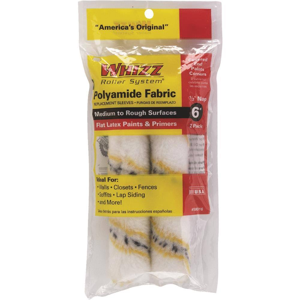 Whizz 58016 Premium Roller Cover, 6 Inches 2 / Pack