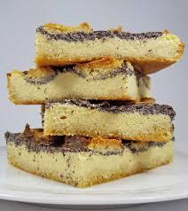 rezept mohn pudding quarkschnitten low carb glutenfrei