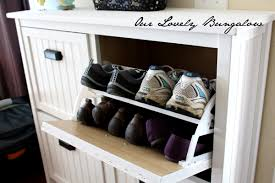 Ikea Bissa Shoe Cabinet White by Revamping An Ikea Shoe Cabinet