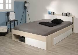bett stauraumbett einzelliege 140x200 cm schlafzimmer akazie weiss neu