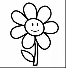 Astonishing Rose Flower Coloring Pages Printable With Easy To Draw Pertaining Smlf