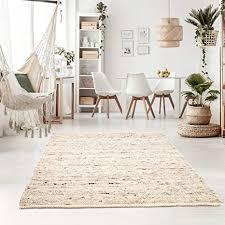 taracarpet handweb teppich oslo wolle im skandinavischem landhaus design wohnzimmer esszimmer schlafzimmer flur läufer beidseitig verwendbar 070x130