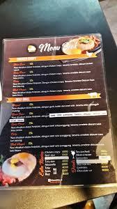 Menu Makanan Di Rice And Shine Semarang