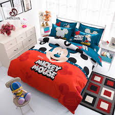 online get cheap mickey mouse bedding twin aliexpress com