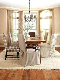 Target Dining Room Chair Slipcovers by Fabric Covered Dining Room Chairs Armchair Slipcovers Chair With