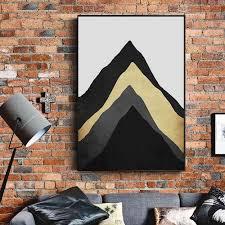 moderne minimalistische wohnzimmer dekorative malerei