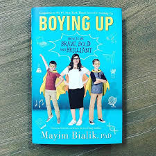 Got My Copy Of Boying Up So Proud Missmayim For Writing