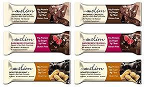 NuGO Slim Bars 3 Flavor Variety Pack Of 6 By NuGo
