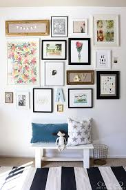 If Youre Looking For Gallery Wall Ideas A Girls Bedroom Try Using Bright Illustrations And Photos To Create Colorful Display