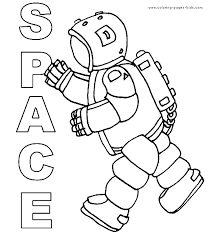Astronaut Color Page More Free Printable Fantasy Medieval Coloring Pages