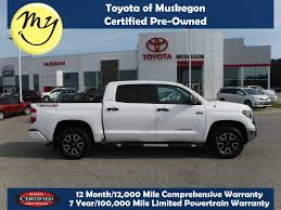Used 2018 Toyota Tundra For Sale | Muskegon MI Riverside Chrysler Dodge Jeep Ram Iron Mt Vehicles For Sale In Br 25 New Used Cars Cadillac Mi Ingridblogmode Trucks For Sale In Ky Car Models 2019 20 Volvo Dealer Farmington Hills Mi Lafontaine Jackson 49202 Auto Co Fenton 48430 Fine Find Escanaba Michigan Pre Owned Chevy Dually 3500 Pickup Truck 1 Grand Rapids Automax Of Gr 2000 Silverado 2500 4x4 Used Cars Trucks For Sale Serra Chevrolet Southfield Near My Certified Muskegon 49444