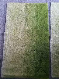 teppich 2er set grün badezimmerteppich 60x102cn