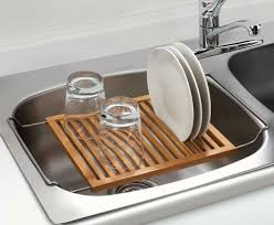 Oxo Over The Sink Colander by Dish Drying Rack Image Is Loading Home Basics 2tier Plastic