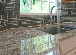 kitchen kitchen backsplash renovation with grey glass tile
