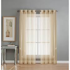 Curtains With Grommets Pattern by Window Elements Sheer Diamond Sheer Voile White Grommet Extra Wide