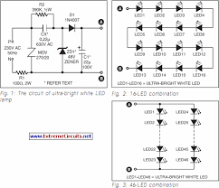 how to build ultra bright led l circuit diagram