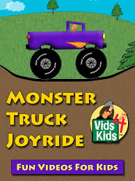 Amazon.com: Monster Truck Joyride - Kids Count To Ten: Les Anas