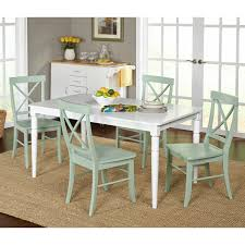 5 Piece Dining Room Sets Cheap by Monarch Specialties Bluffton 5 Piece Rectangular Dining Table Set