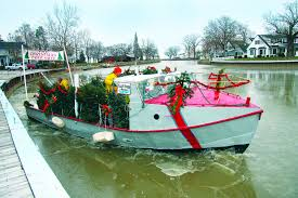 The Christmas Tree Ship Is Coming To Vermilion Tomorrow