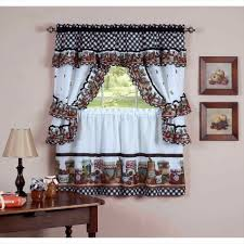 swag window kitchen curtains jcpenney waverly valances swag cafe
