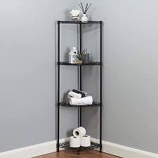 generic badezimmer regal aus metall schwarz de