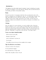 beginning a cover letters Asafonec