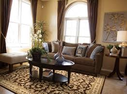 Brown Couch Living Room Decor Ideas by Decorating Simple Brown Area Rugs Lowes Plus Chair And Glass Door