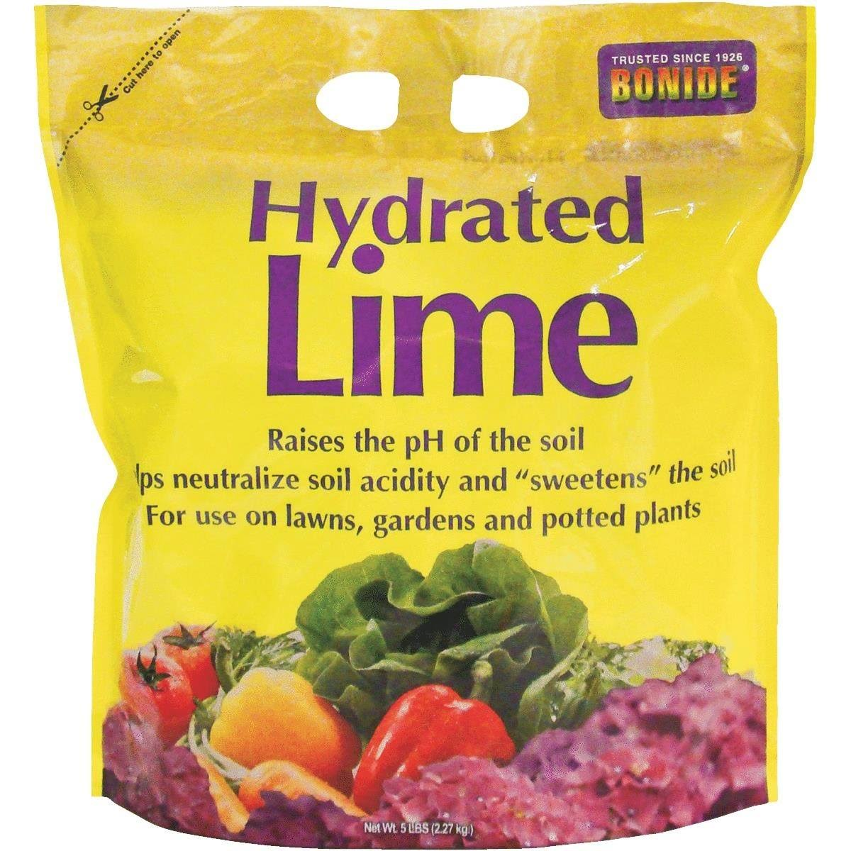Bonide Chemical Number-5 Hydrated Lime for Soil