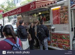 Food Truck New York Stock Photos & Food Truck New York Stock Images ... Kosher Sushi Food Truck Hits The Streets Of Nyc That New York Association Nyfta Trucks Photo Hot Dog Vendors And Coffee Carts Turn To A Black Market Operating In Vintage 1977 Citroen Used For Sale The Best Ny Bagel Cafe Deli Miami Roaming Hunger Cart Rentalsticker Wpsbrandingnewyorkskytouchnyc October 11 National Day Holidays Around Letter Grades Coming City Food Trucks Abc7nycom Will Now Get Grades Like Restaurants Bubble Lion