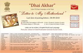 India Post Dhai Akhar Letter To My Motherland Ad Advert Gallery