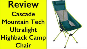 Cascade Mountain Tech High Back Chair - YouTube Eureka Highback Recliner Camp Chair Djsboardshop Folding Camping Chairs Heavy Duty Luxury Padded High Back Director Kampa Xl Red For Sale Online Ebay Lweight Portable Low Eclipse Outdoor Llbean Mec Summit Relaxer With Green Carry Bag On Onbuy Top 10 Collection New Popular 2017 Headrest Sandy Beach From Camperite Leisure China El Indio