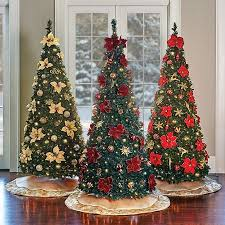 Pull Up Christmas Trees Decorating Can T Get Any Easier Or Faster