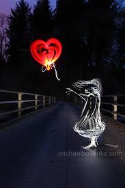 Stunning Light Art Tribute To Banksy By Michael Bosanko