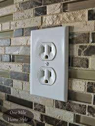 how to adjust outlets after tiling