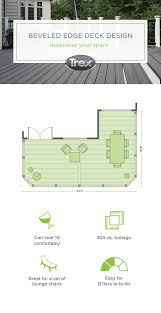 18 best free deck design plans from trex images on pinterest