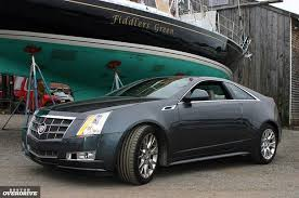 2011 Cadillac CTS Coupe Two door luxury redefined Boston