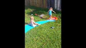 DIY Backyard Water Slide $9 At Walmart - YouTube 25 Unique Slip N Slide Ideas On Pinterest In Giant Backyard Water Parks Splash Recycled Commerical Water Slides For Sale Fix My Slide Diy Backyard Outdoor Fniture Design And Ideas Residential Pool Pools Come Out When Youre Happy How To Turn Your Into A Diy Pad 7 Genius Hacks Sprinklers The Boy Swimming Pools Waterslides Walmartcom N But Combing Duct Tape Grommets Stakes 54 Best Images Summer Fun 11 Infographics Freeze