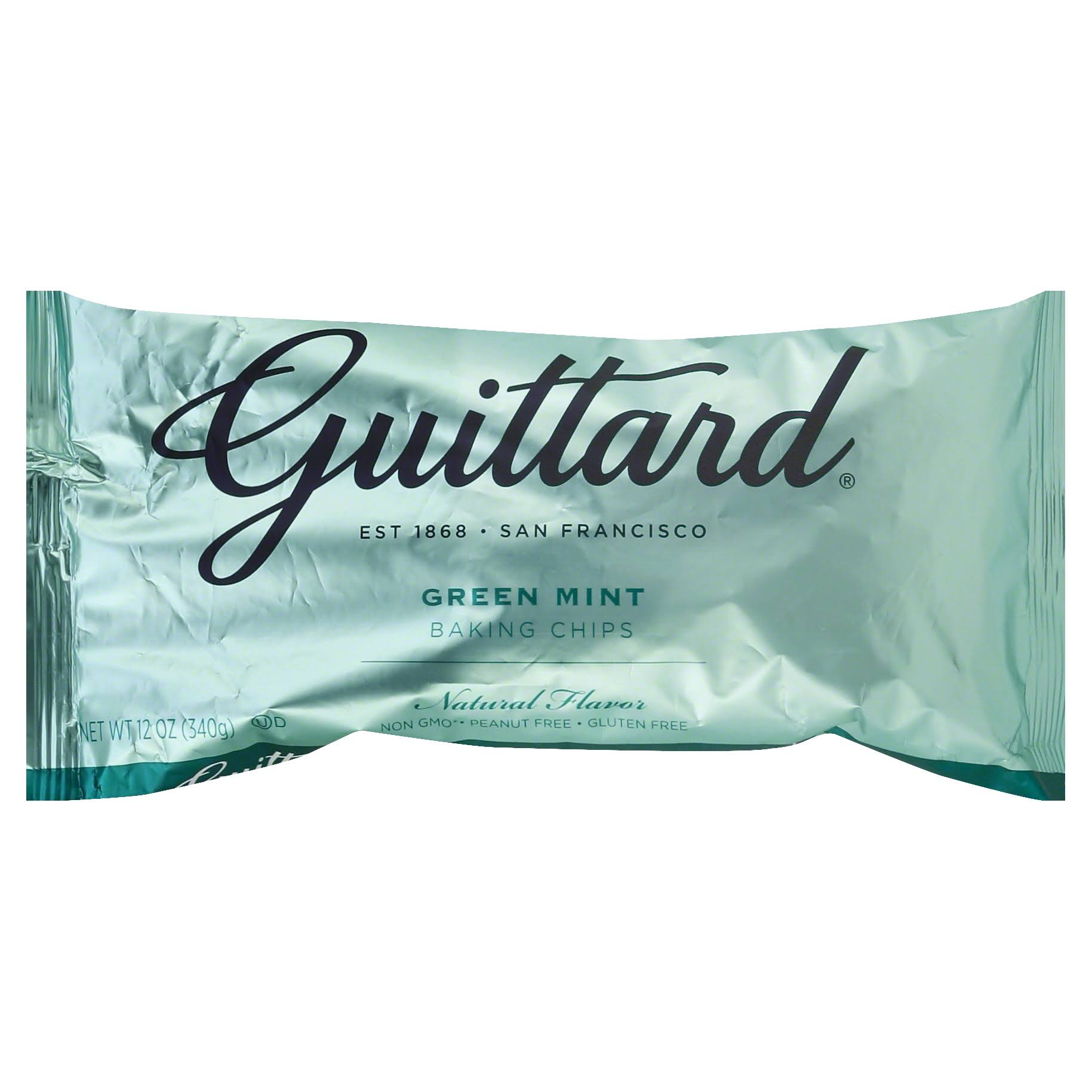 Guittard Green Mint Chips - 12oz