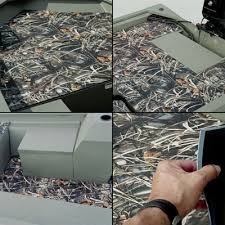 Realtree Floor Mats Blue by Styx River Camo Neo Mats For Tracker Grizzly 1548 Mvx Sportsman