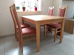 esszimmertisch inkl 4 stühle